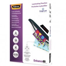 Laminating pouch 80mic A5 100-pack