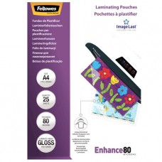 Laminating pouch 80mic A4 25-pack