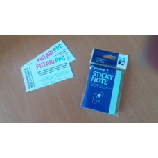 Double A Sticky Note paper, blue, 76 x 51 mm, 100 pages