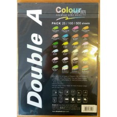 Colour paper DOUBLE A Rainbow 3 - 100 pages