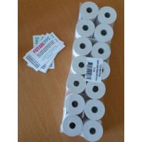 Thermal paper 37mm x 30m, 10-pack