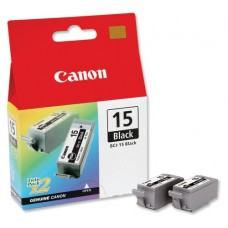 Canon BCI-15 black ink 2-pack