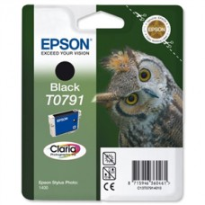 Epson T0791 black ink 11 ml