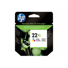 HP 22XL colour ink C9352CE