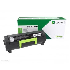 Lexmark MS/MX 317, 417, 517, 617 black toner 51B2000